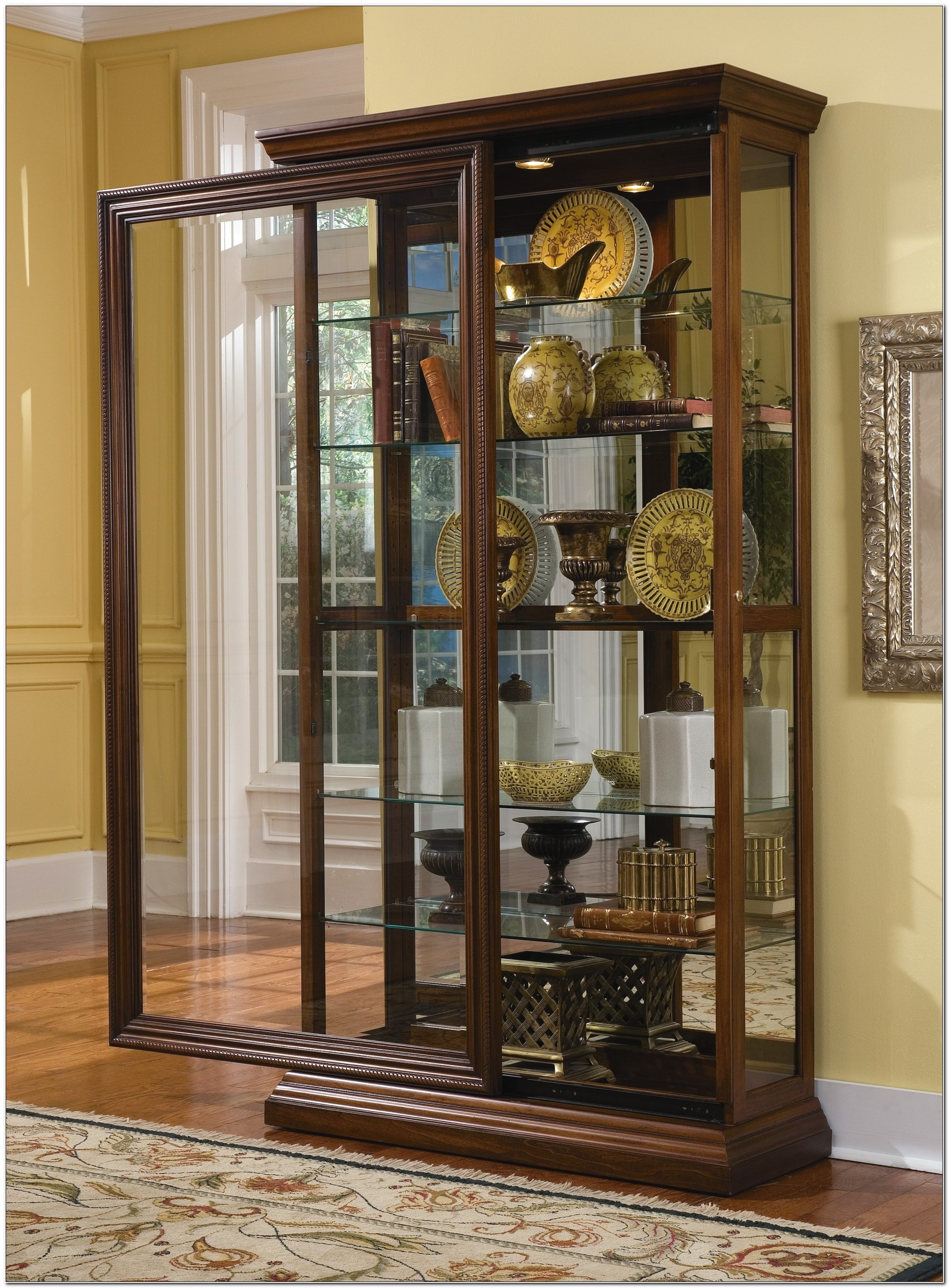 Glass Front Curio Cabinets