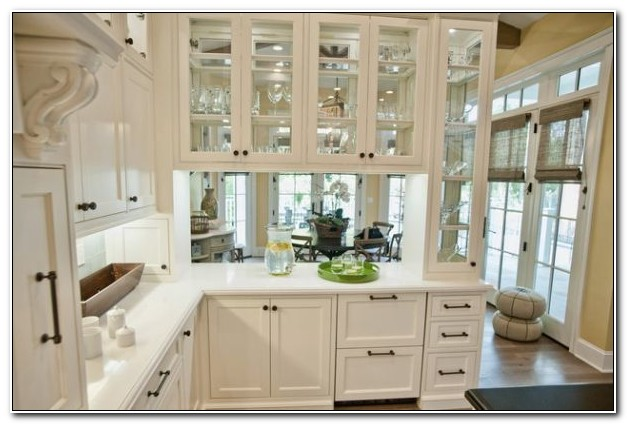 Glass Front Kitchen Cabinets Doors