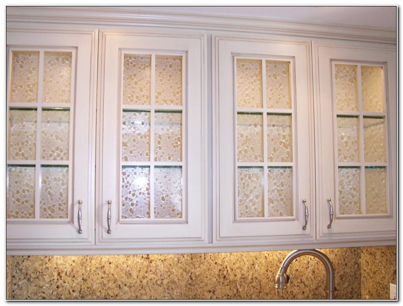 Glass Inserts For Kitchen Cabinets Doors