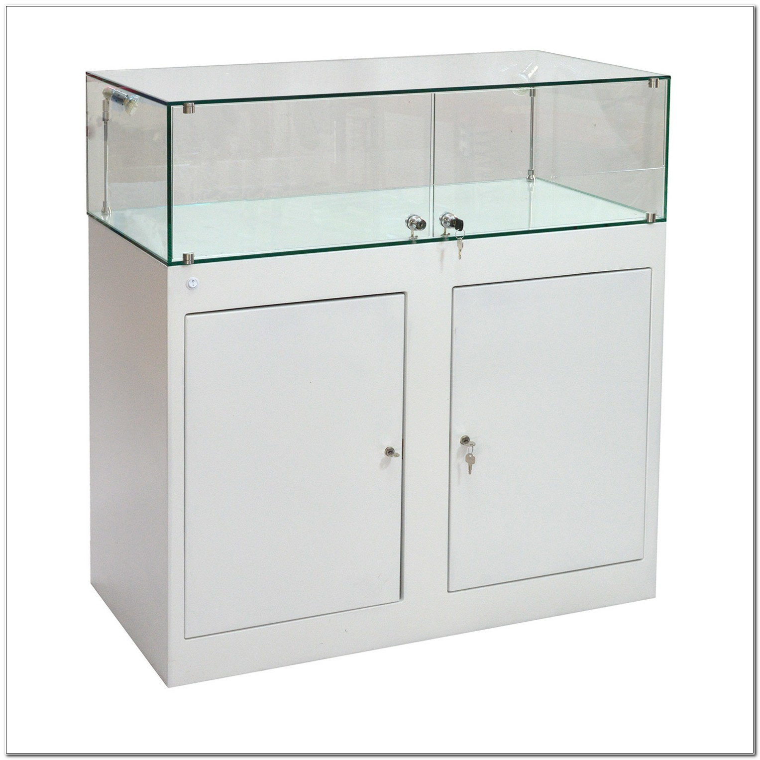 Glass Lockable Display Cabinets