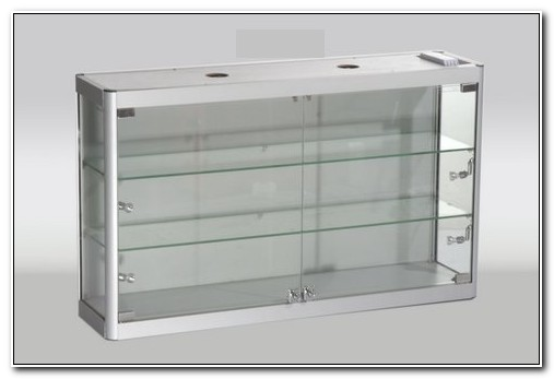 Glass Wall Mounted Display Cabinets