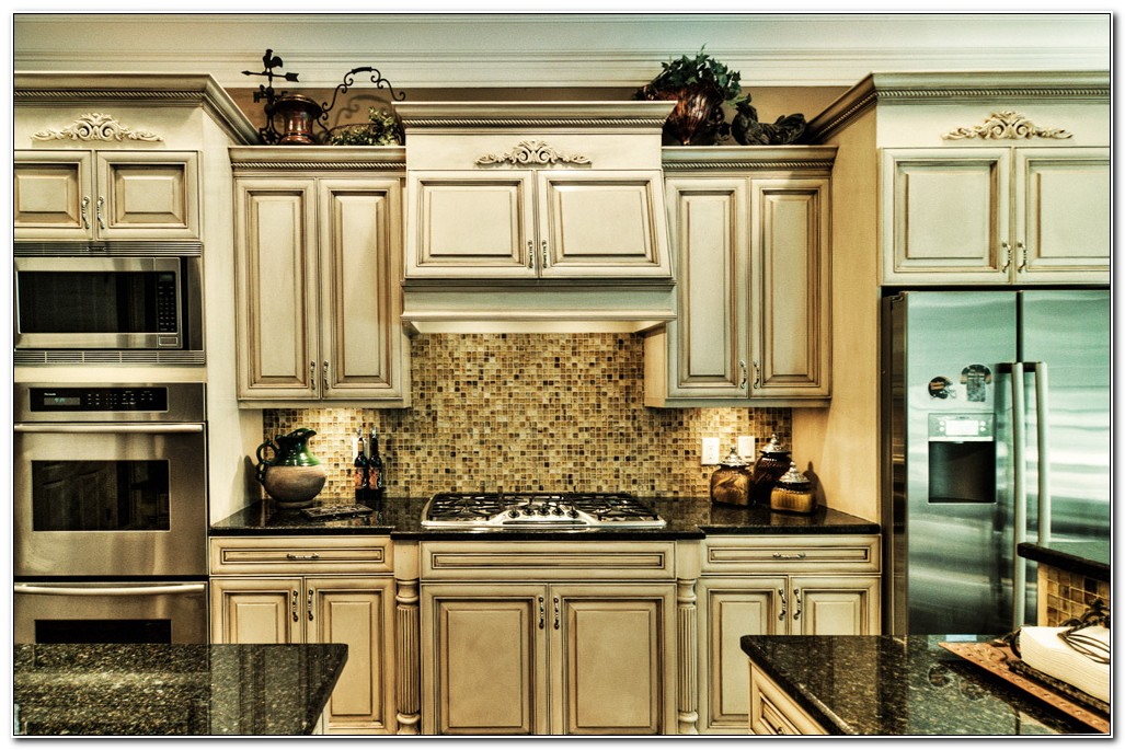 Glaze Finish Kitchen Cabinets