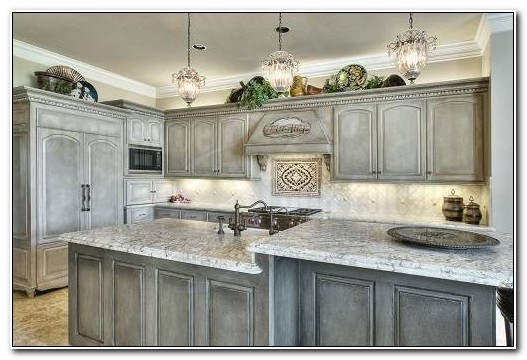 Grey Wash Kitchen Cabinets