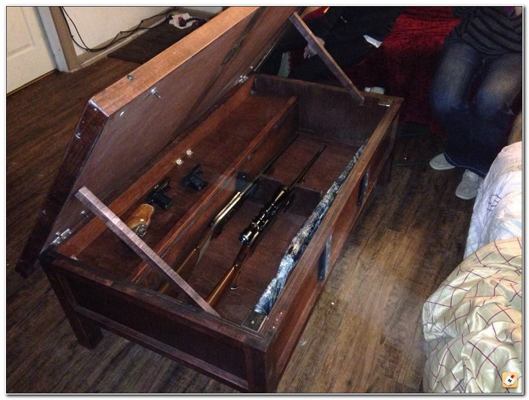 Gun Cabinet Coffee Table
