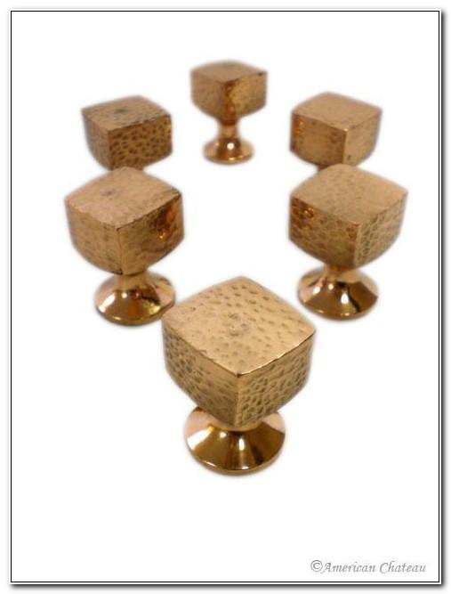 Hammered Copper Cabinet Knobs