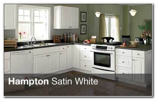 Hampton Bay Kitchen Cabinets White