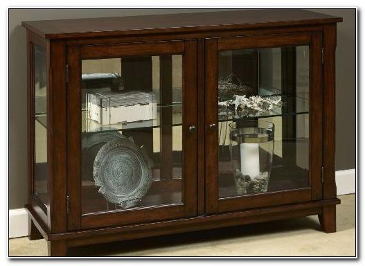 Hanson Double Door Curio Cabinet