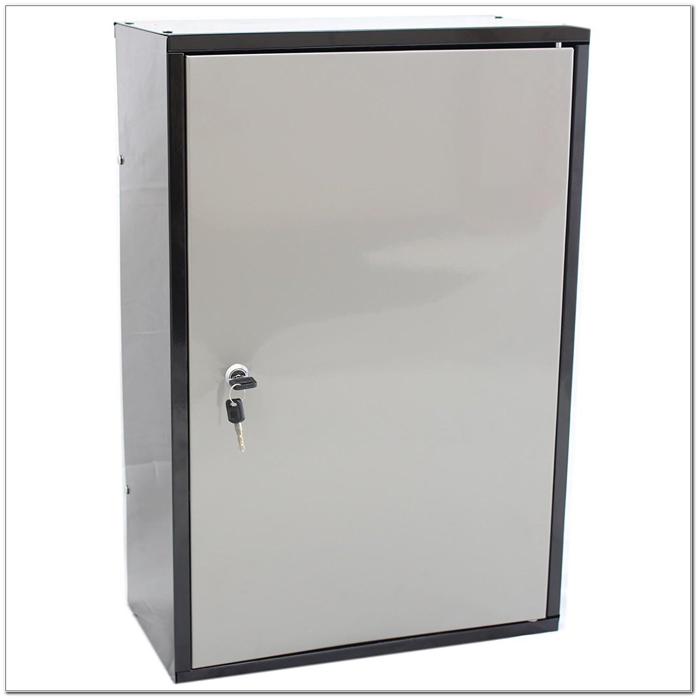 Hardcastle Lockable Metal Garageshed Storage Cabinet