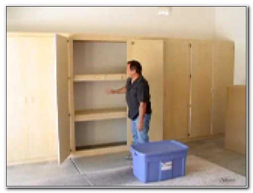 Heavy Duty Garage Cabinet Plans