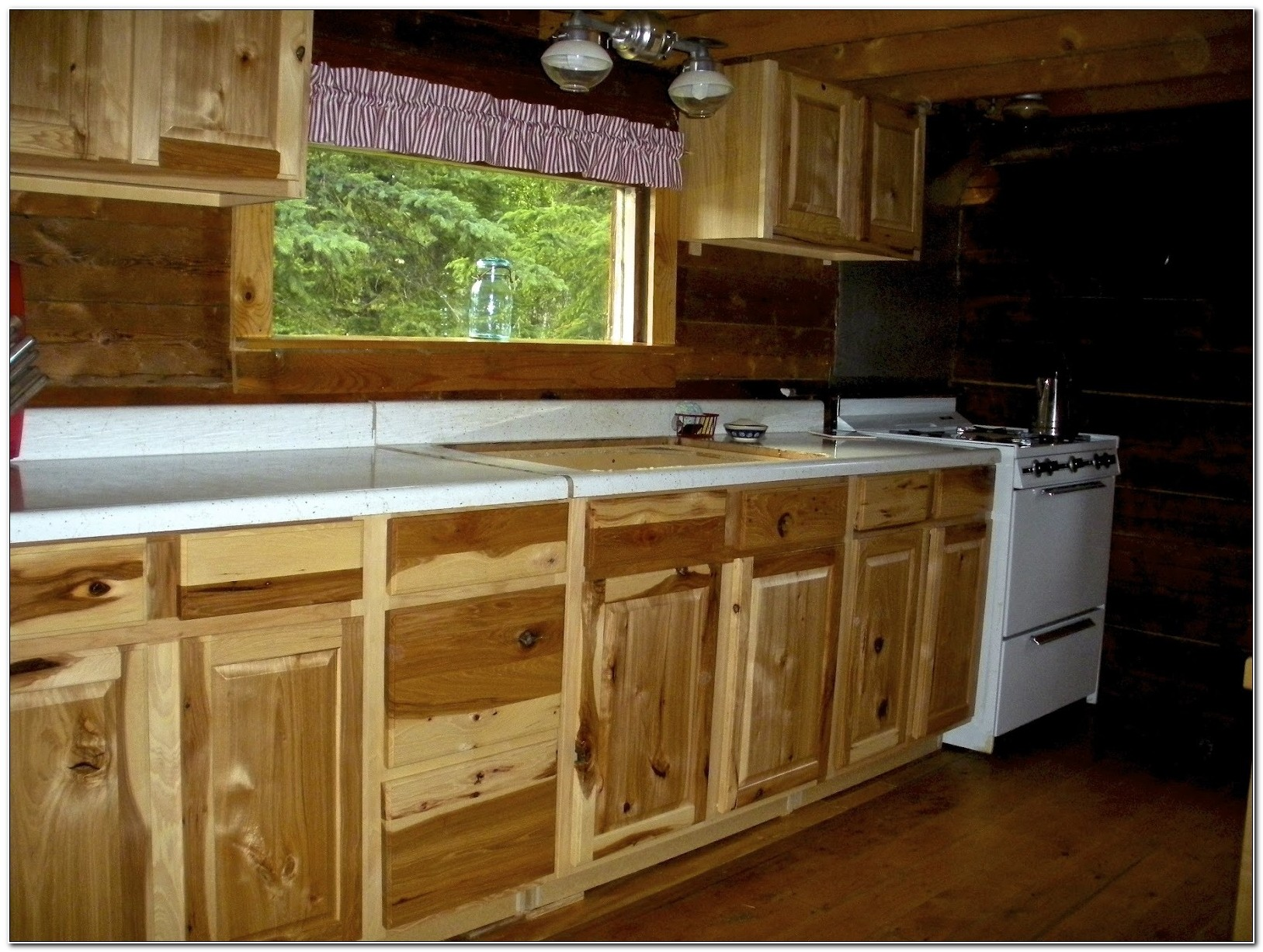 Hickory Replacement Kitchen Cabinet Doors