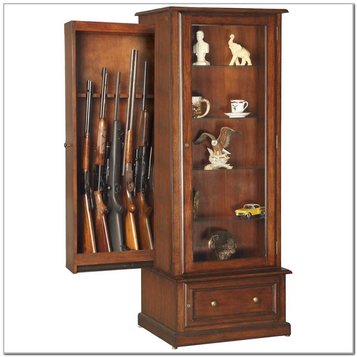 Hidden Gun Cabinet Designs