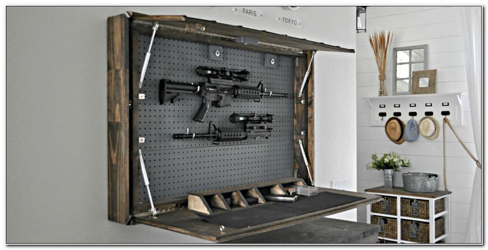 Hidden Gun Safe Plans