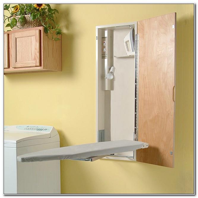 Hide Away Ironing Board Cabinet