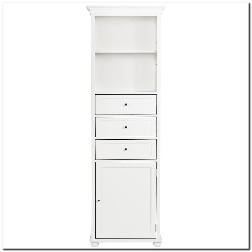 Home Decorators Hampton Bay Linen Cabinet