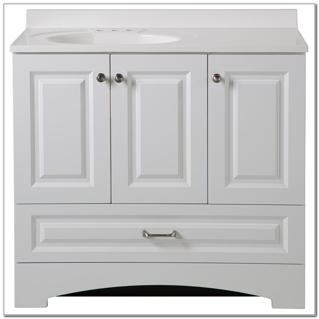 Home Depot Bathroom Cabinets In Stock