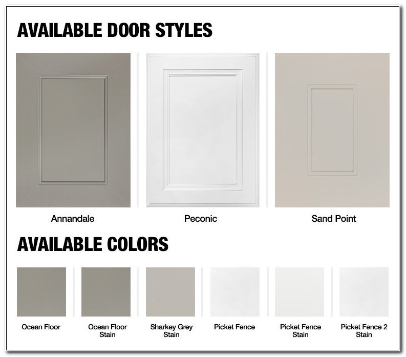 Home Depot Cabinet Refacing Door Styles