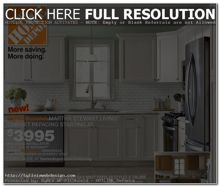 Home Depot Cabinet Refacing Options