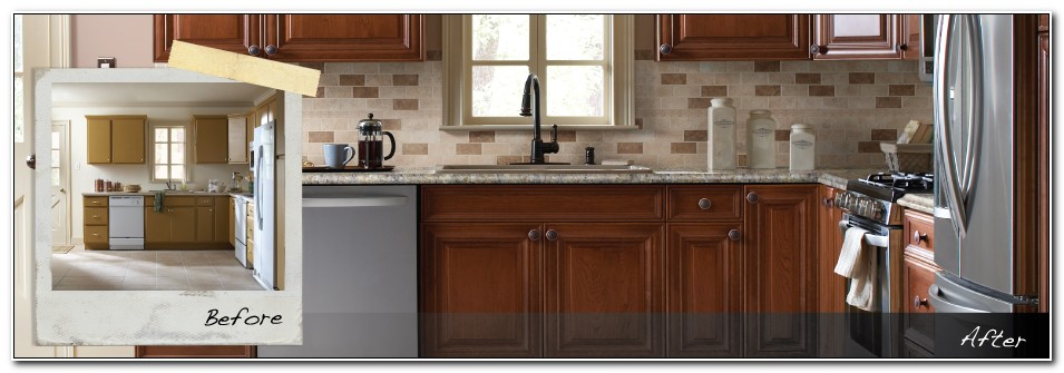 Home Depot Refacing Cabinets