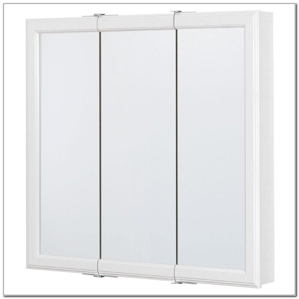 Home Depot Tri Mirror Medicine Cabinet