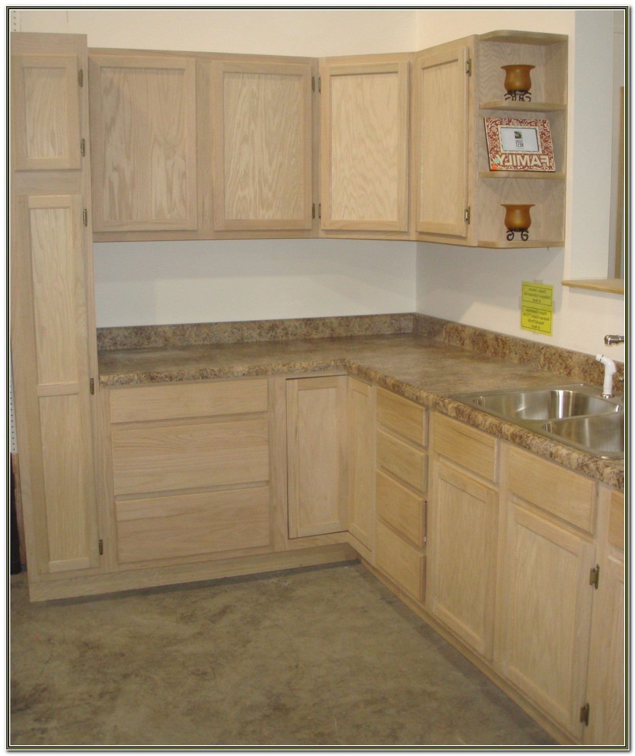 Home Depot Unfinished Kitchen Cabinets In Stock