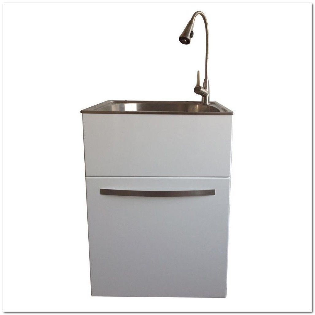 Home Depot Utility Sink And Cabinet