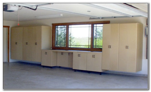 Home Depot Wood Garage Cabinets