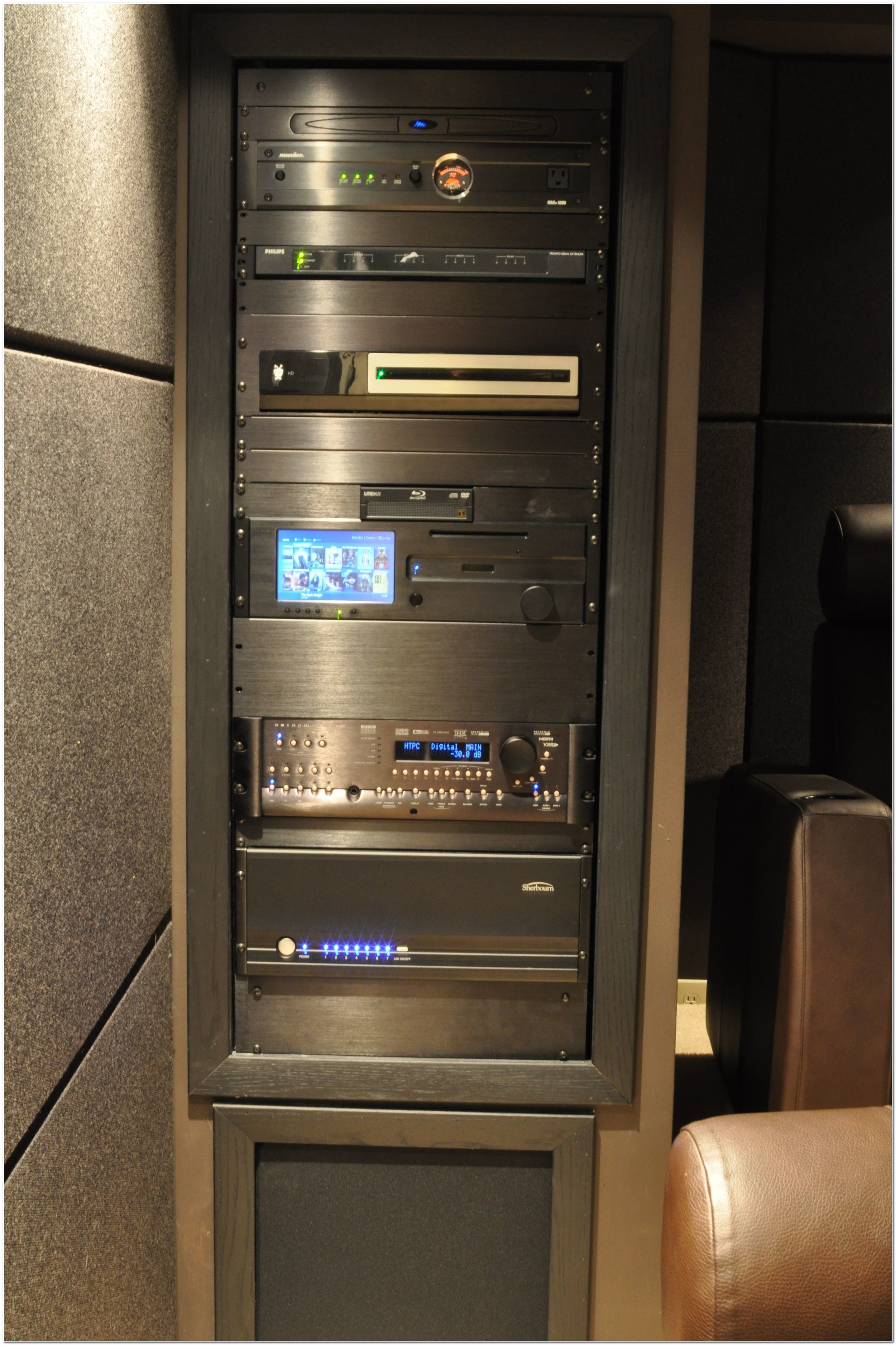 Home Theater Component Rack
