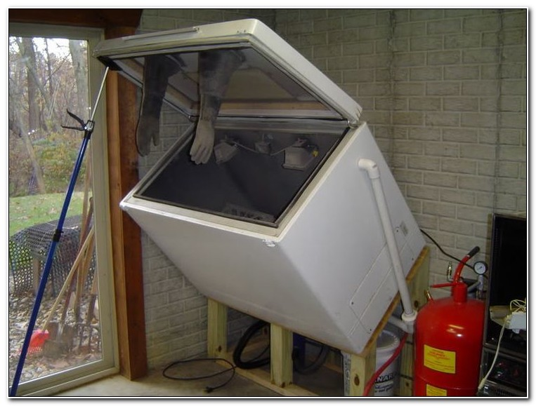 Homemade Sandblasting Cabinet Idea