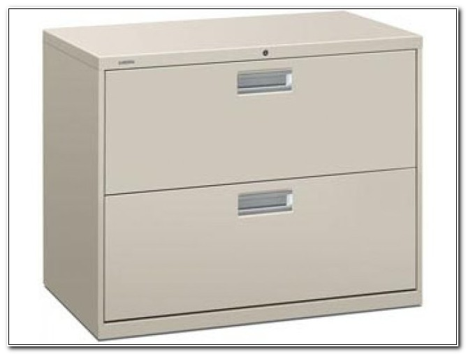 Hon 2 Drawer File Cabinet Lateral