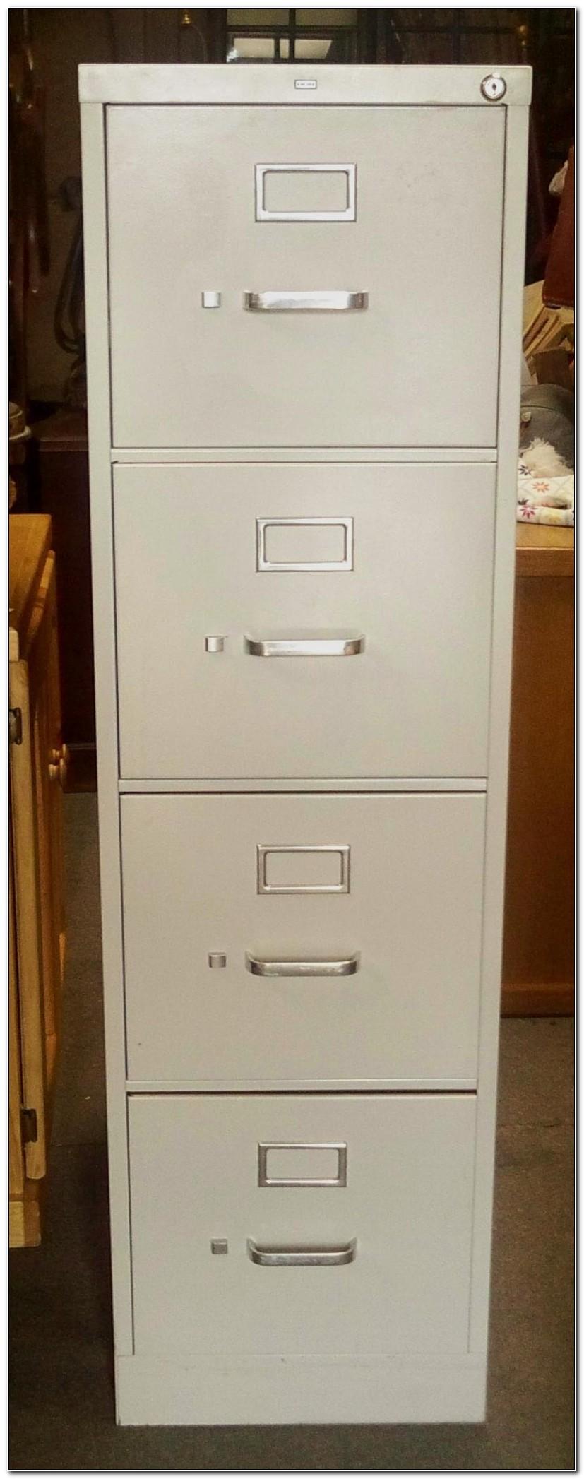 Hon 2 Drawer File Cabinet Used