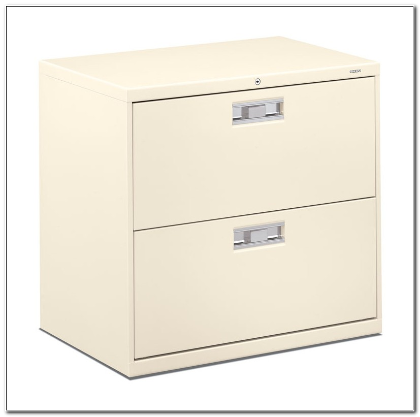 Hon 2 Drawer Lateral Wood File Cabinet