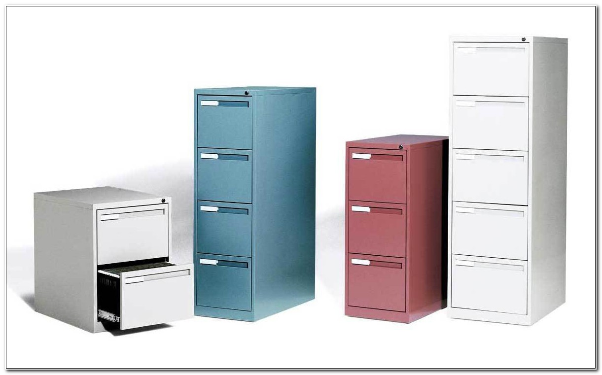 Hon 3 Drawer Vertical File Cabinet