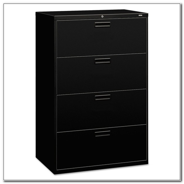 Hon 4 Drawer File Cabinet With Lock