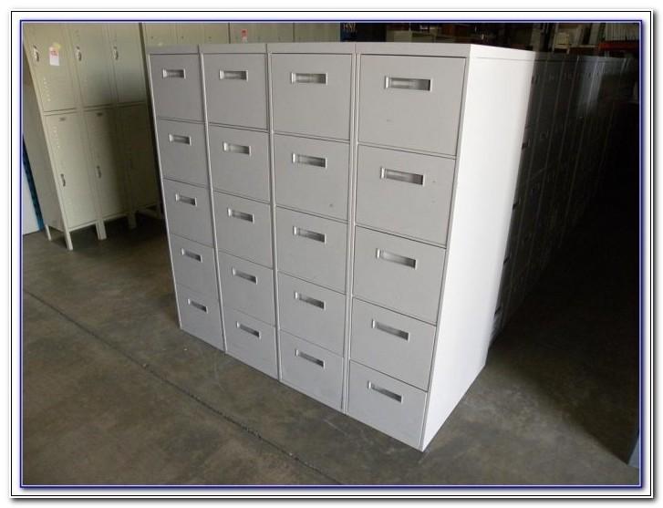 Hon 5 Drawer File Cabinet Used