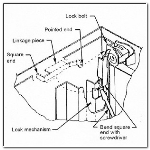 Hon File Cabinet Lock Assembly