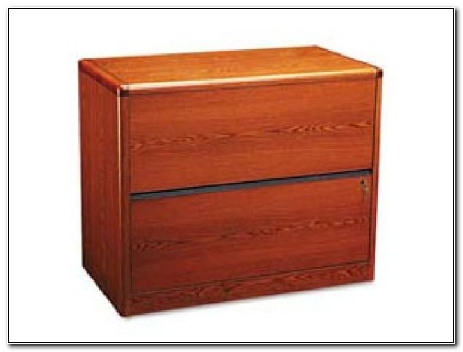 Hon Lateral File Cabinet