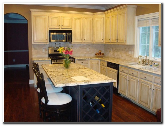 Honey Oak Kitchen Cabinets Painted