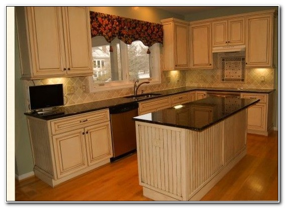 Honey Oak Kitchen Cabinets Update