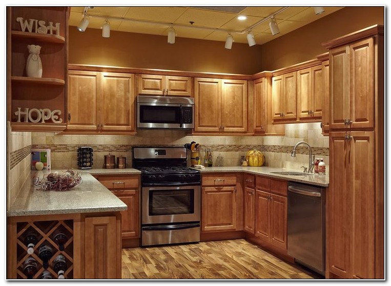 Honey Wood Kitchen Cabinets