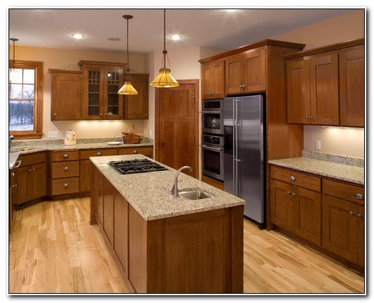 Houzz Maple Shaker Kitchen Cabinets