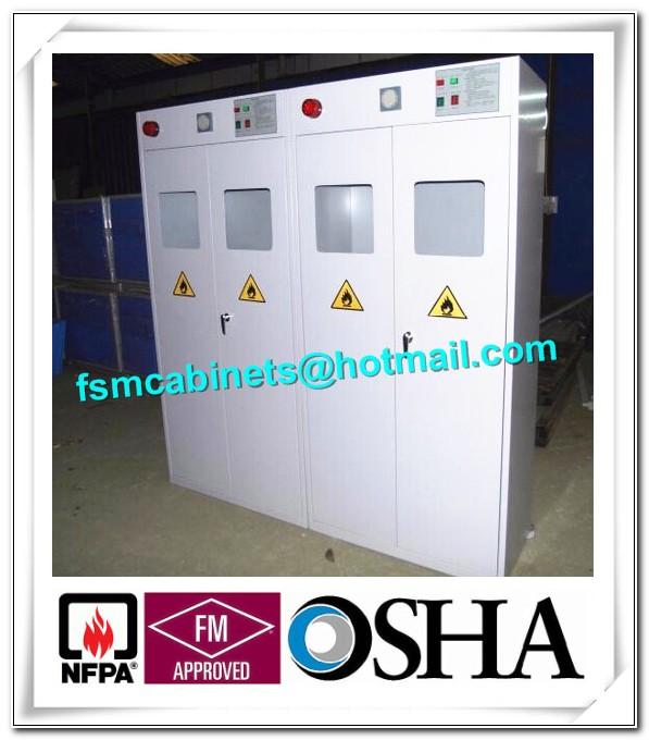 Hydrogen Gas Cylinder Storage Cabinet
