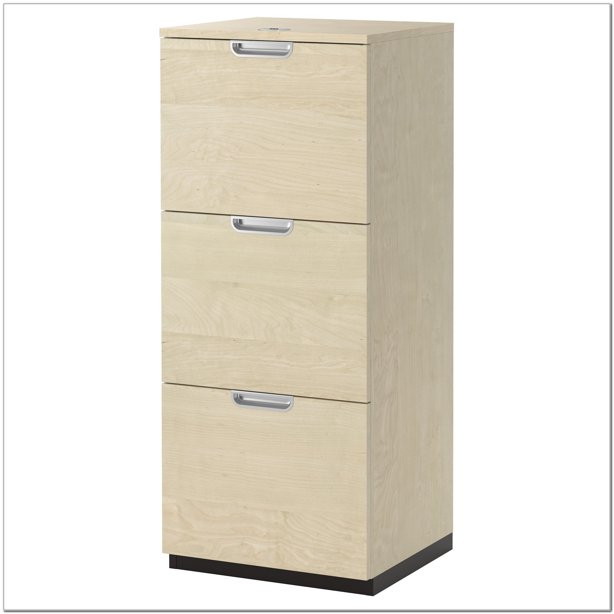 Ikea 2 Drawer Wood File Cabinet