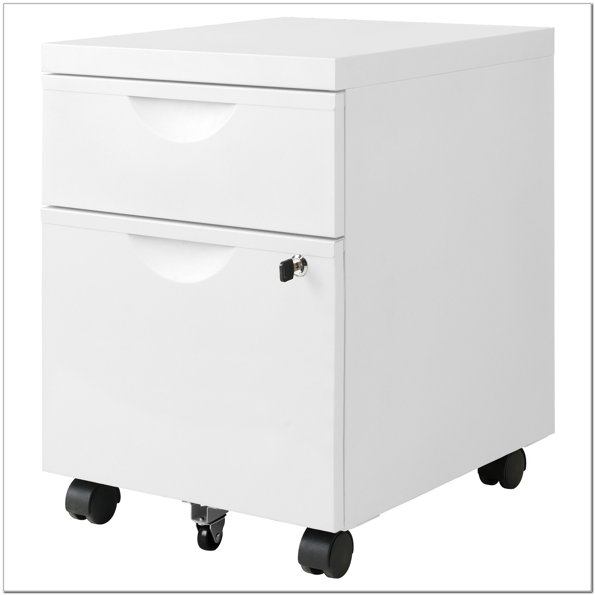 Ikea Black 2 Drawer Filing Cabinets