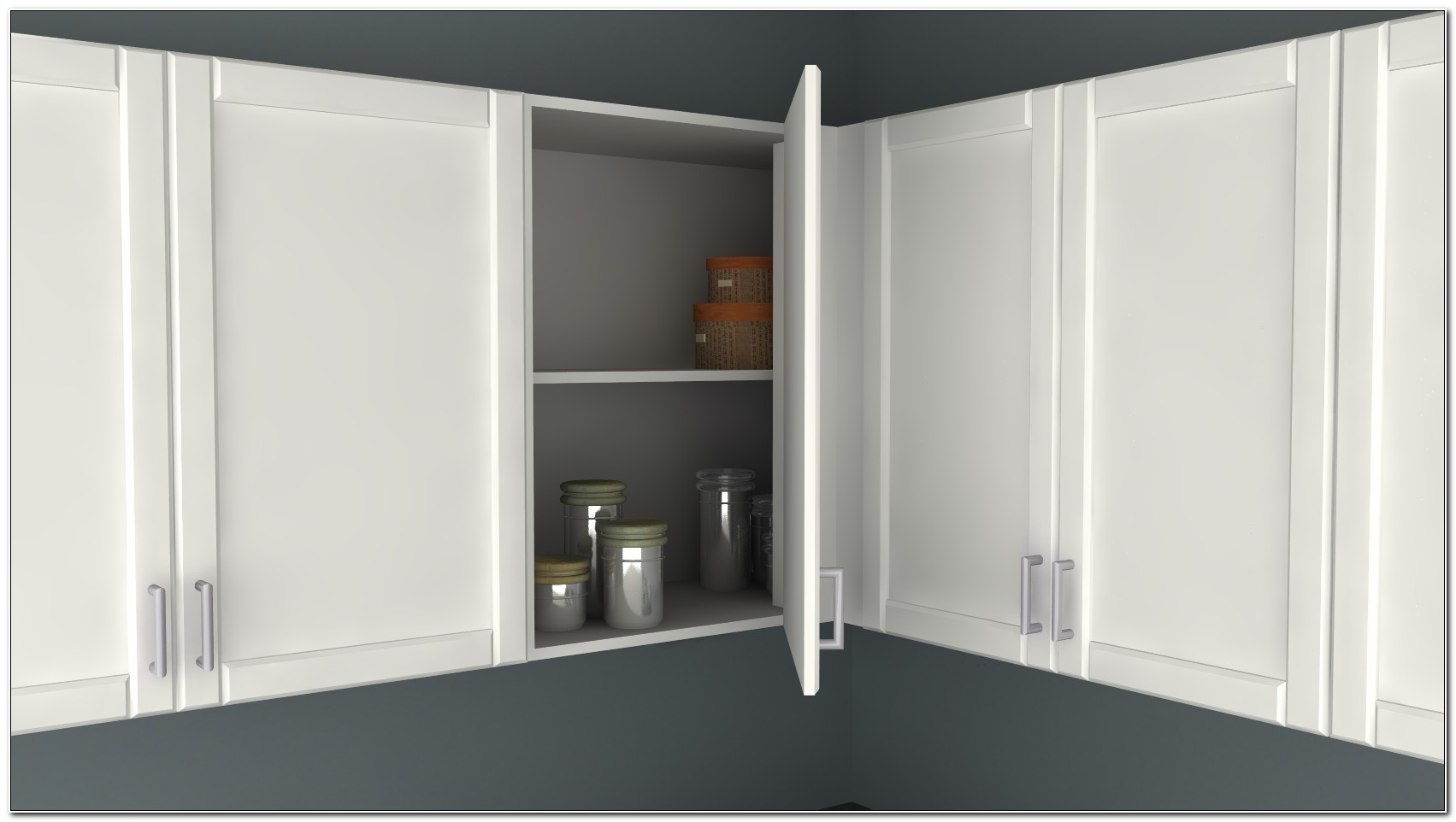 Ikea Blind Corner Wall Cabinet