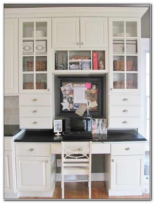 Ikea Built In Office Cabinets