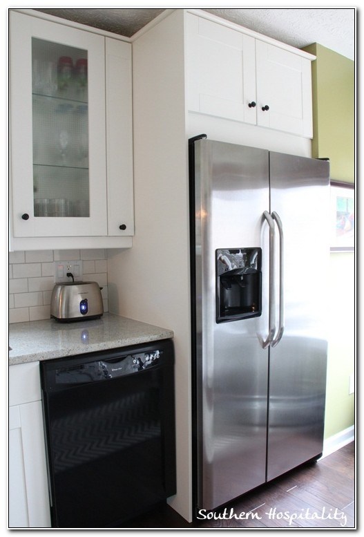 Ikea Cabinets Built In Refrigerator
