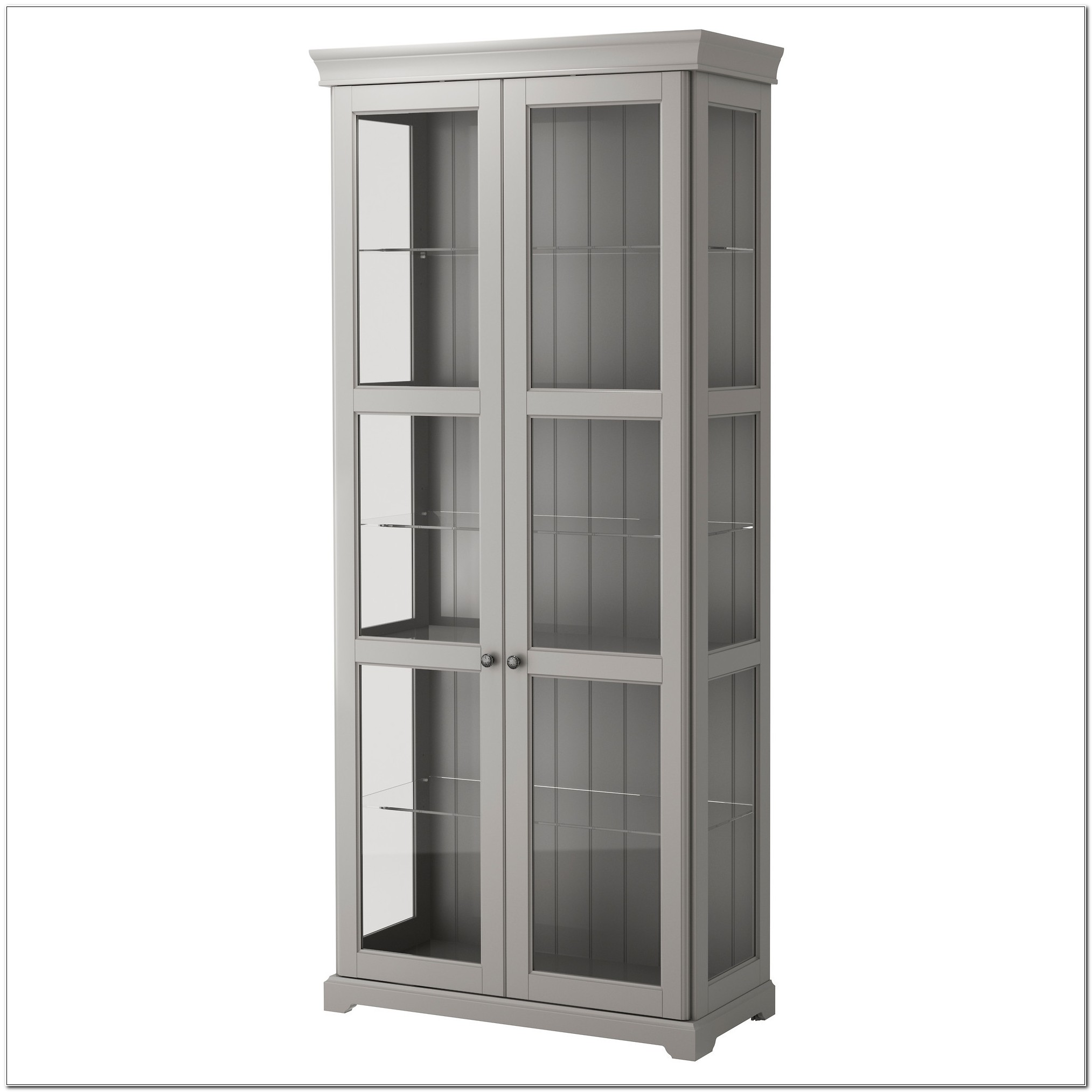 Ikea Corner Cabinet Glass Door
