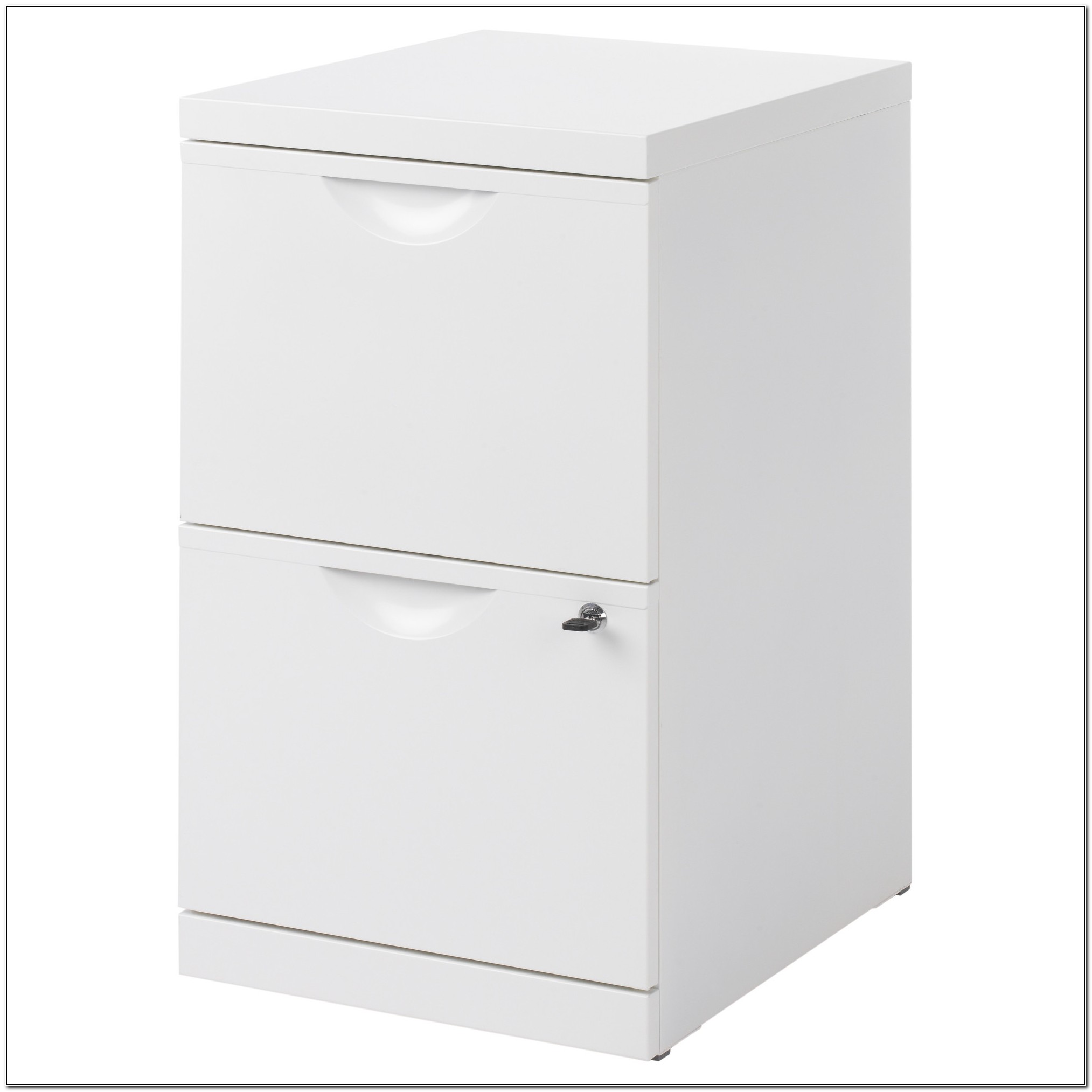 Ikea Erik White Filing Cabinet