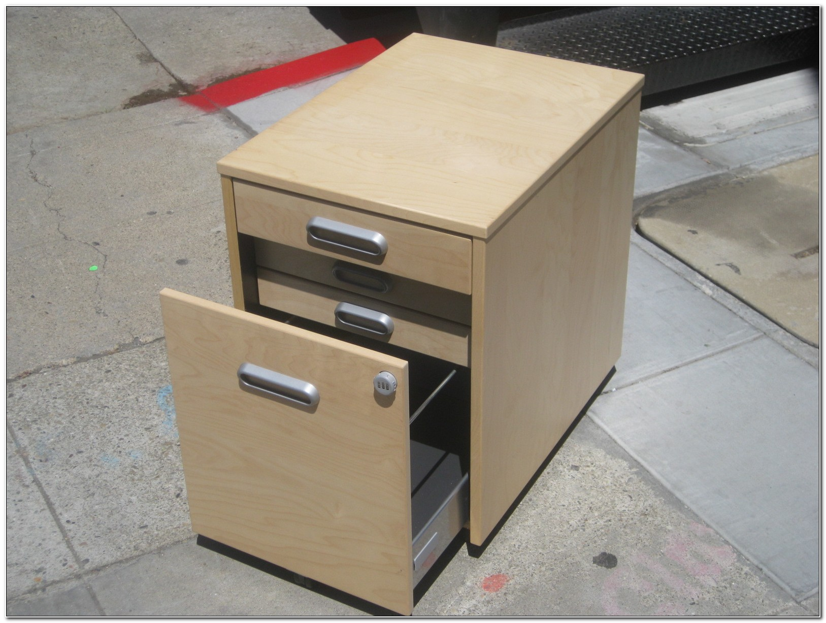 Ikea Galant File Cabinet Combination Lock