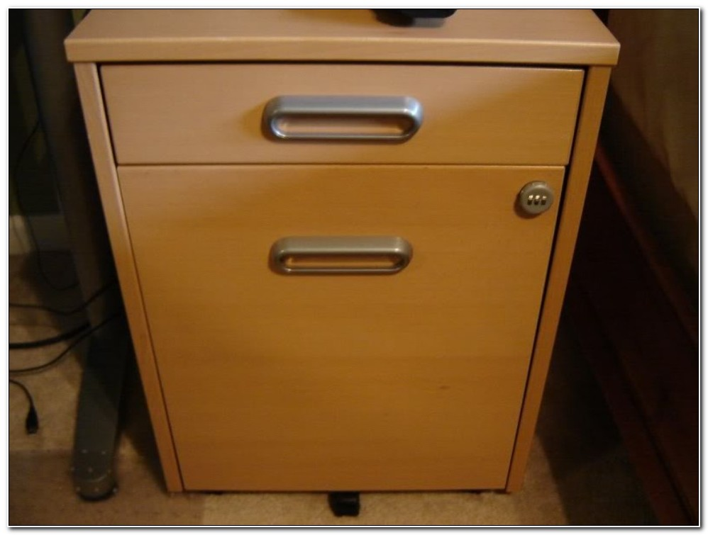 Ikea Galant Filing Cabinet Lock Reset